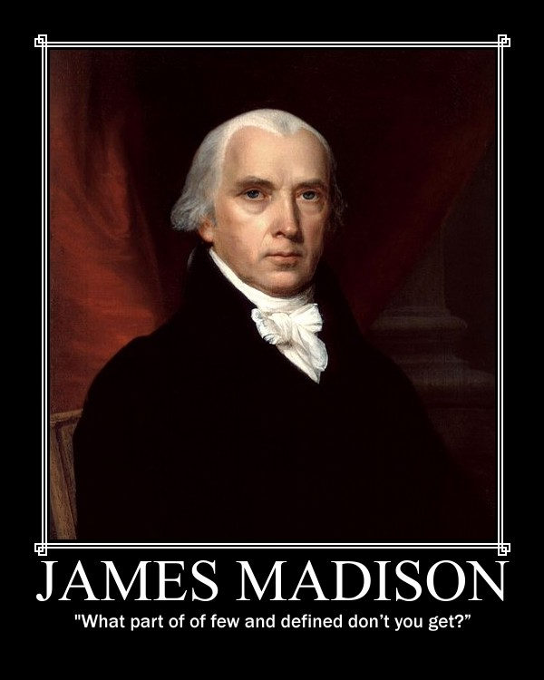 James Madison on Limited Government