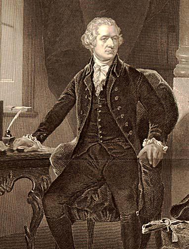 Alexander Hamilton - Engraving