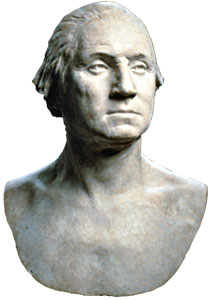 houdon bust of Washington