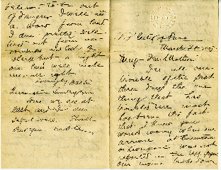 Letter from Passenger on City of Paris