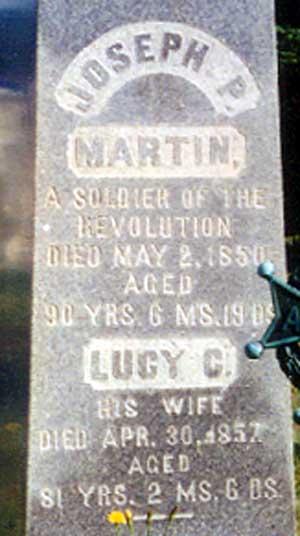 joseph plumb martin's grave