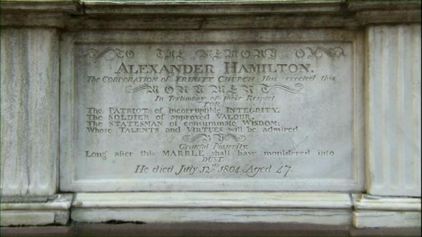 hamilton grave