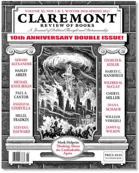 Claremont Review Of Books Winter - Spring 2011