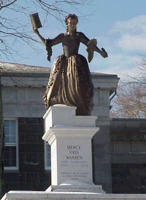 Mercy Otis Warren Statue