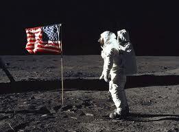 Flag on the Moon