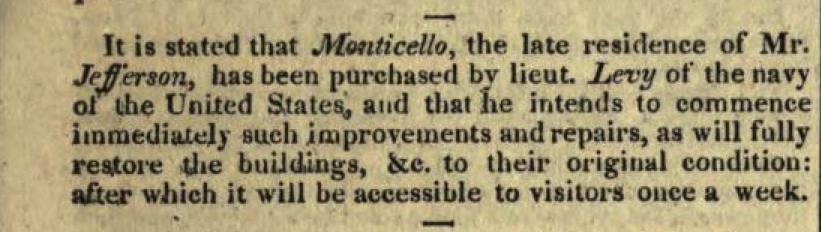 April 19, 1834 Niles Register