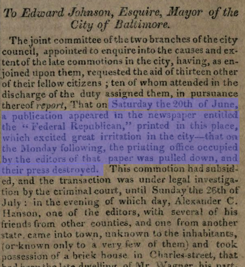 City Council Excerpt