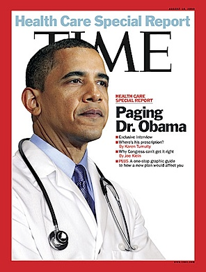 Time Magazine Dr Obama