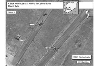 Attack Helicopters in Syria