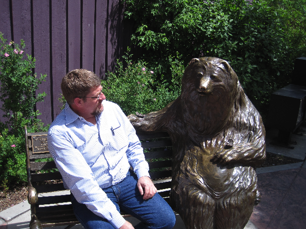 Blogger and the Bear