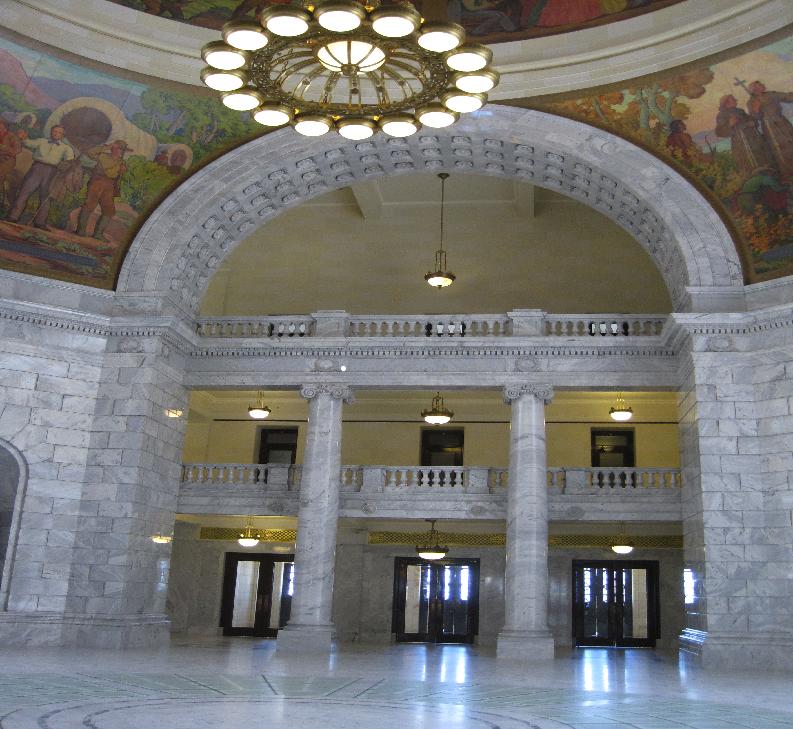 Inside Utah Capitol