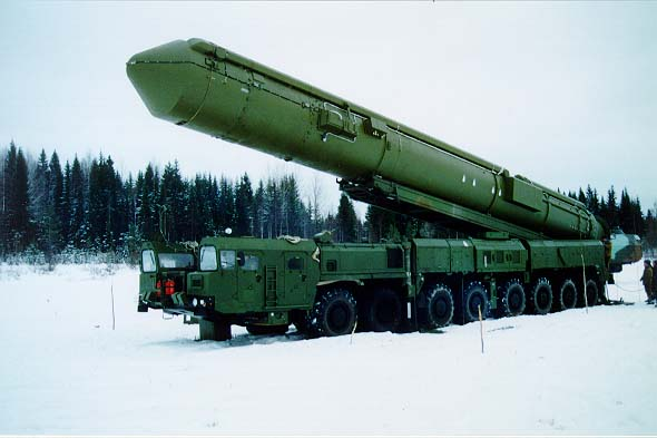 Mobile Missle Launcher with Topol M