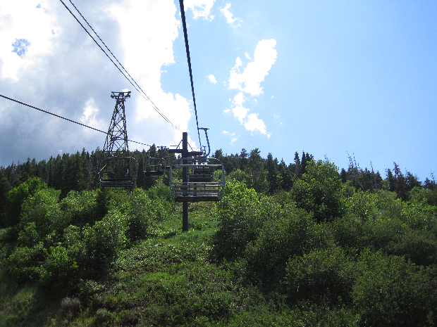 Ski  Lift from Park City