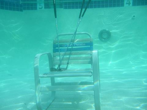 Empty Chair Underwater