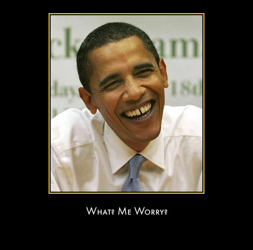What, Me Worry?  Alfred Obama