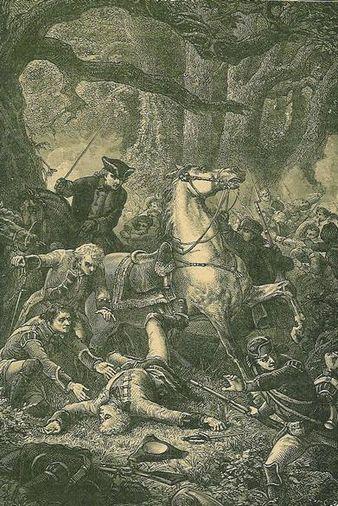 Braddock's Death