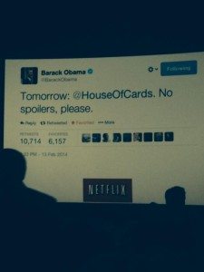 Obama (faux) Tweets