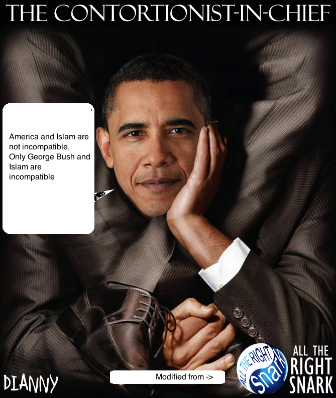 Obama-Contortionist